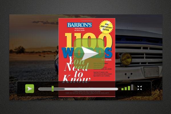 بخش ویدئوهای 1100 واژه