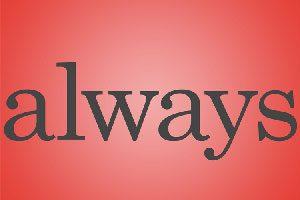 always,how to use always,آموزش زبان انگلیسی,زبان انگلیسی,یادگیری زبان انگلیسی,مکالمه روزمره انگلیسی,تقویت مکالمه,گرامر زبان انگلیسی,قیدهای تکرار در زبان انگلیسی,