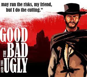 آموزش زبان انگلیسی با فیلم وسترن - The Good, the Bad, and the Ugly