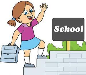 school - نکات مهم گرامر زبان انگلیسی درباره موسسات