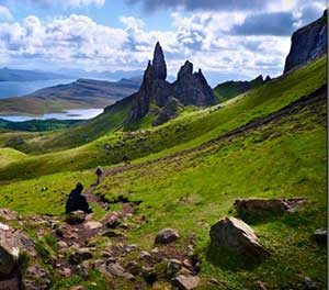 scot - the Scottish Highlands
