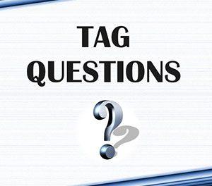 پرسش تاییدی یا tag question