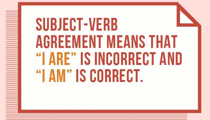 مطابقت در زبان انگلیسی