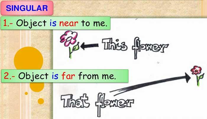 صفت اشاره در انگلیسی