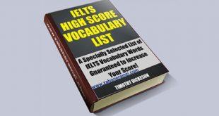 IELTS High Score Vocabulary List آخرین ویرایش