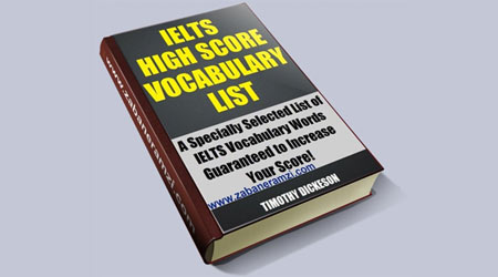 IELTS High Score Vocabulary List آخرین ویرایش