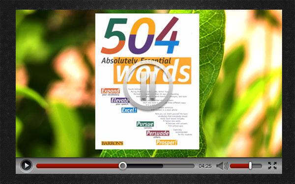 بخش ویدئوهای 504 واژه